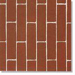 SEMPIONE дорожно-тротуарный брусок, красно-коричневый, с фаской